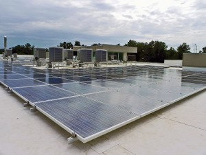 specialty engineering solar panel/hvac