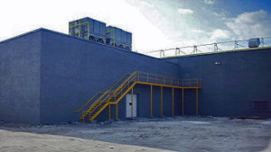 Industrial Projects - Captain's Seafood St. Petersburg Florida